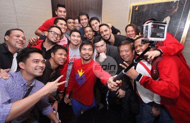 Kia heart and soul Manny Pacquiao chides skidding Sorento: 'Kailangan pa ba nandun ako?'