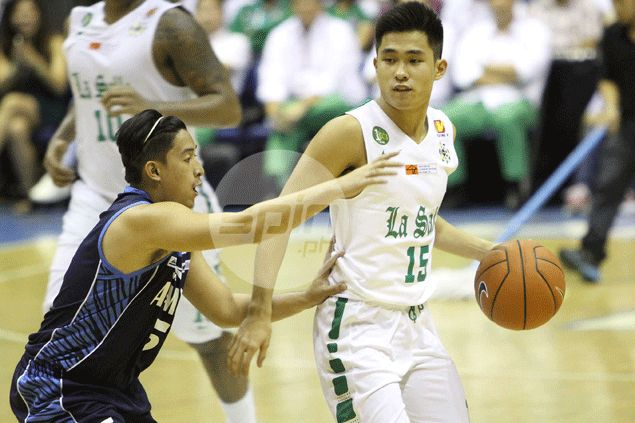 La Salle guard Kib Montalbo turns a year devastated by injury into memorable one by making dean's list