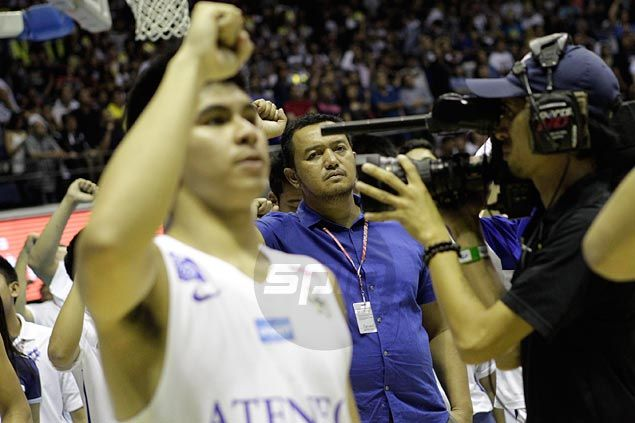 Bo Perasol hoping Kiefer Ravena will stay on for final eligibility year with Blue Eagles