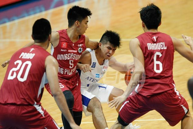 Blue Eagles bounce back and deal Fighting Maroons fourth straight loss