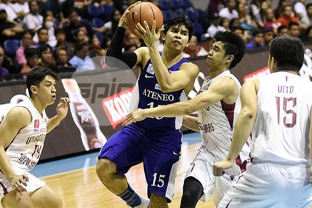 Ateneo punches ticket to UAAP Final Four after emphatic win over UP Maroons