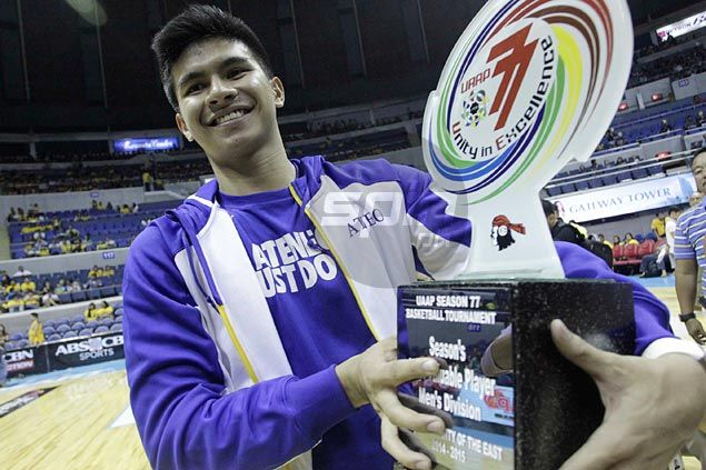 MVP award a small consolation for Ateneo star Kiefer Ravena
