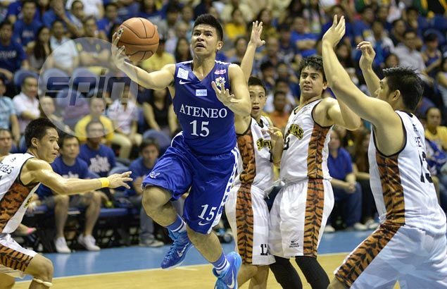 Kiefer Ravena posts a huge double-double as Ateneo Blue Eagles down UST Tigers
