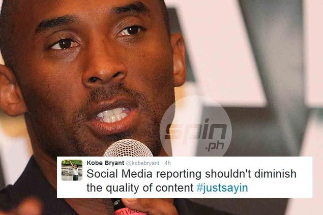 With social media abuzz over Lakers losing out on Aldridge sweepstakes, Kobe Bryant fires at anonymous news sources