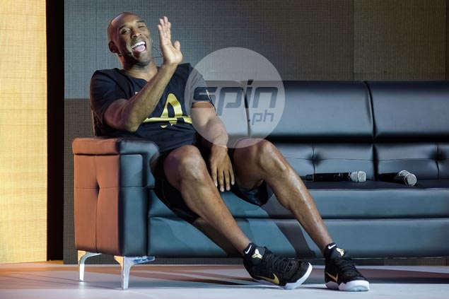 Kobe Bryant thrilled as he reconnects with Filipino fans in 'Mamba Mentality Tour' Manila