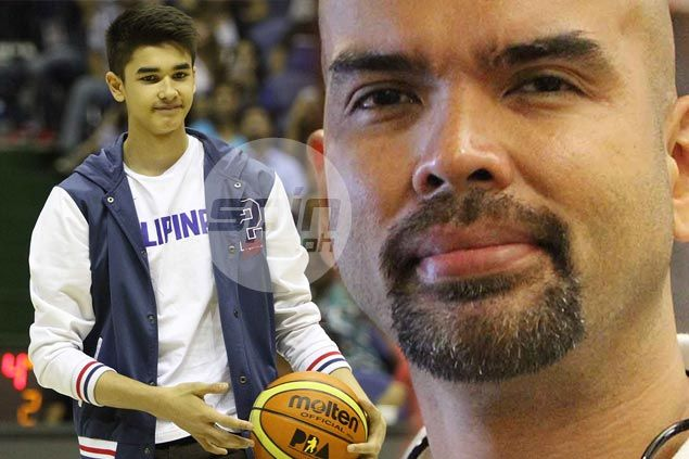 Dad excited but also worried about Kobe Paras 'playing against men' in SEA Games