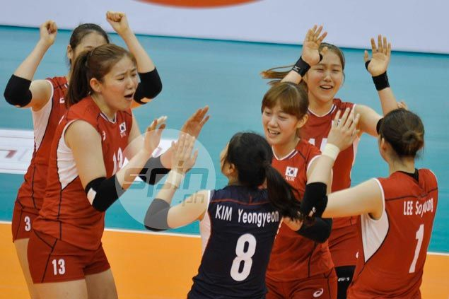 Korea squeaks past Chinese Taipei to gain semifinals of Asian U23 Women's Volleyball tourney