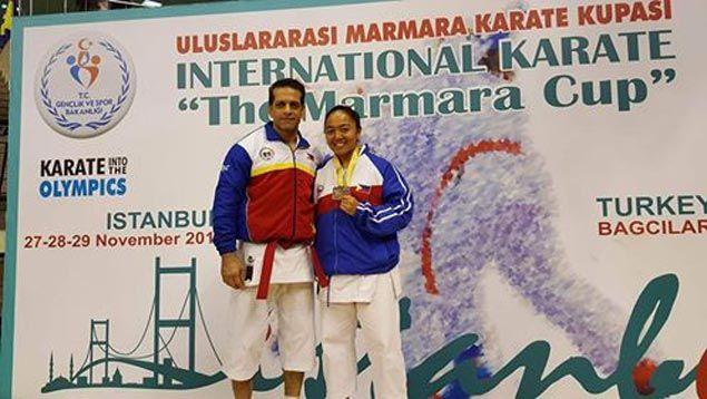 KZ Santiago stars as Philippines wins three gold medals in Turkey karate tournament