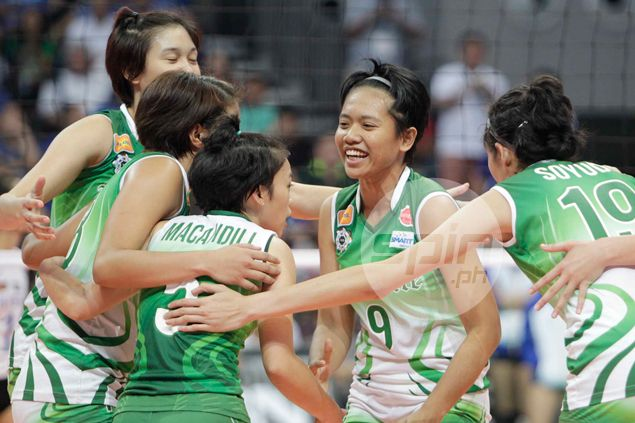 Kim Fajardo stars as La Salle whips St. Benilde to rule Philippine National Games volleyball tournament