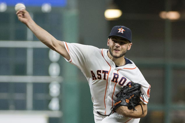 Lance McCullers strikes out 10, Colby Rasmus breaks out of hitting slump as Astros whip Yankees