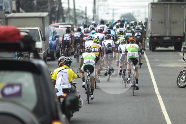 No winner in Le Tour de Filipinas opening stage as heavy traffic forces organizers to stop race