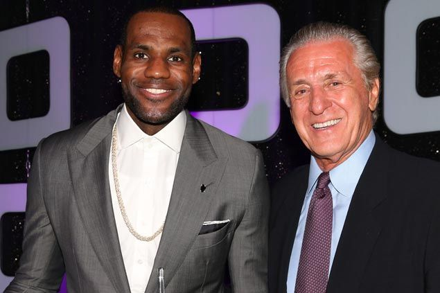 Miami Heat chief Pat Riley denies Lebron James sought Erik Spoelstra firing