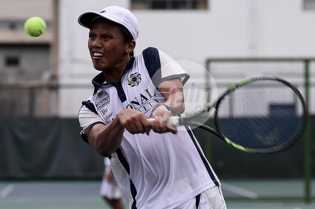 Leander Lazaro ends college career with a flourish as NU tops UAAP tennis for the fourth straight time