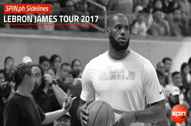 SPIN.ph Sidelines: LeBron James Tour 2017