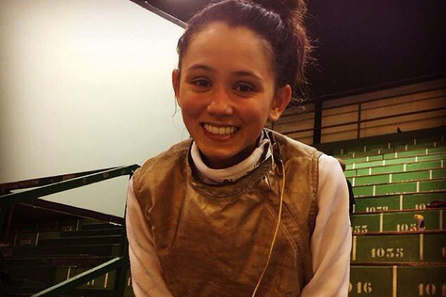 Fil-American fencer Lee Kiefer shows potential with silver medal at World Cup