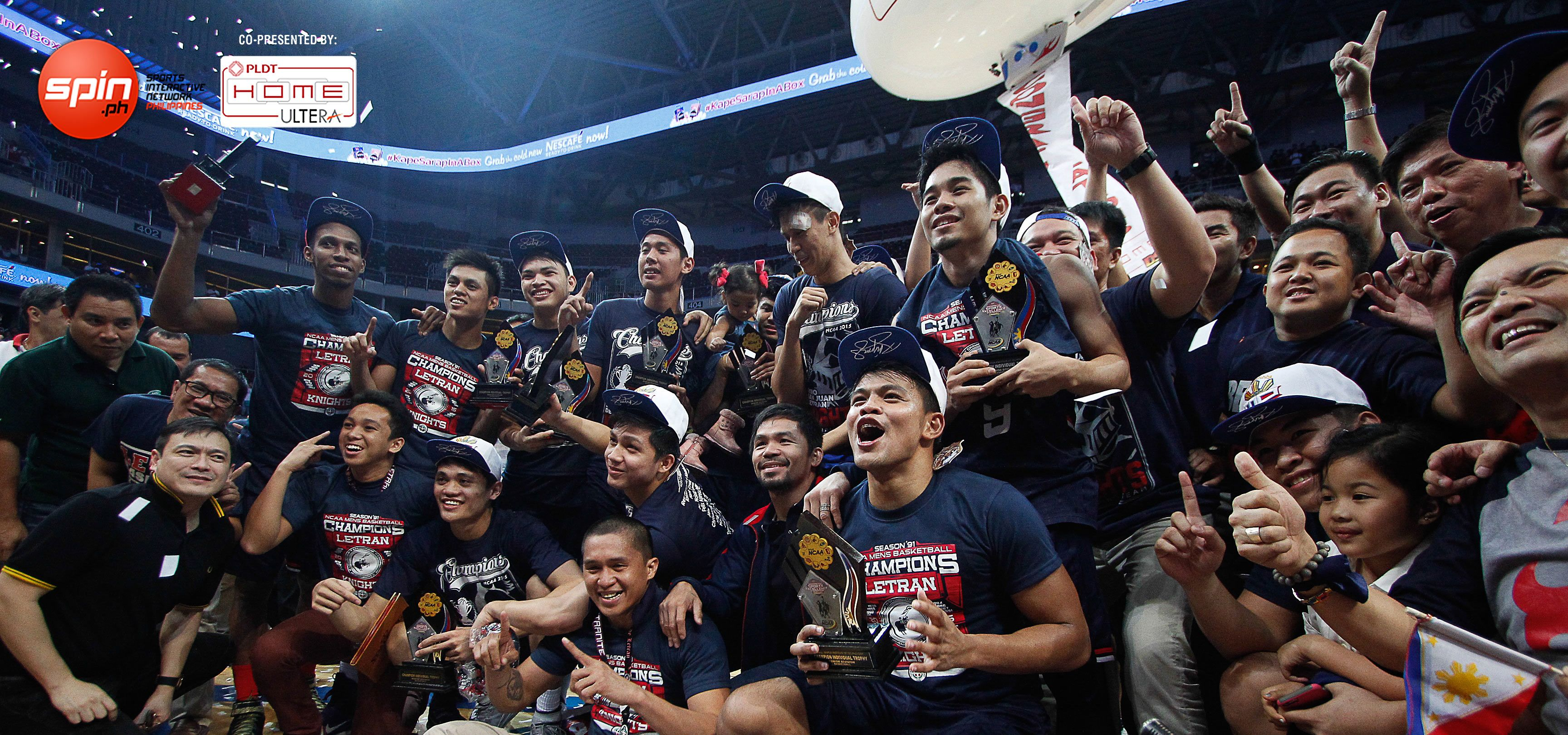 <em>Spin.ph</em> Top Ten Sports Heroes of 2015: Letran Knights, the Cinderella team