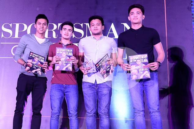 Letran Knights receive Spin.ph award for Sportsmen who Succeed as One