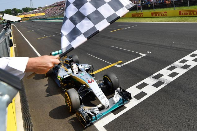 Lewis Hamilton takes overall lead in Formula One with victory in Hungarian GP