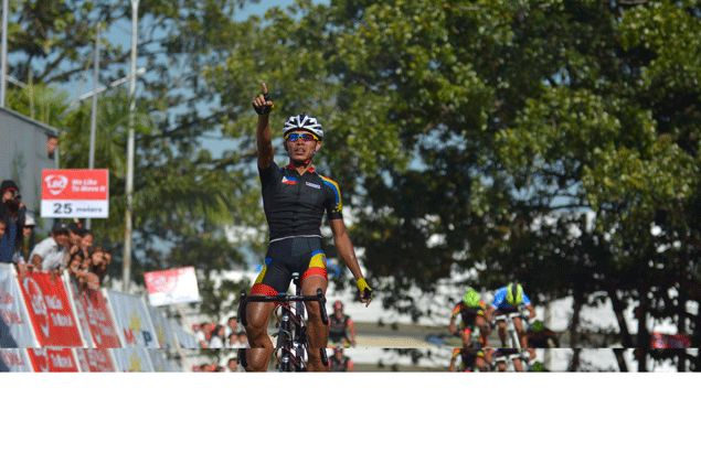 Santy Barnachea hangs tough to retain lead in Ronda Pilipinas