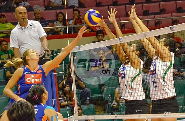 Cignal stuns Air Force to halt four-game slide and boost semis chances