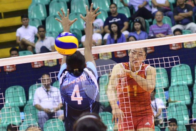 China whips India in straight sets in Asian Under-23 Women's Volleyball Championship