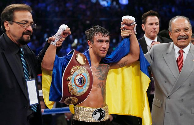Olympic star turned pro champ Vasyl Lomachenko says pro boxers should wait for Tokyo Olympics