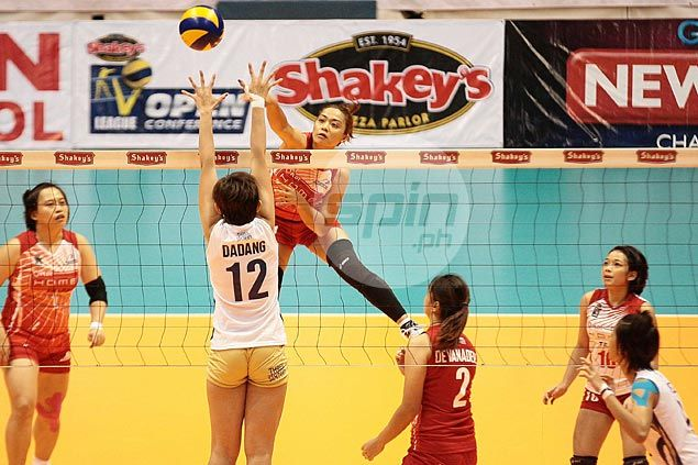 Power Attackers bounce back with 72-minute demolition ofNU Lady Bulldogs