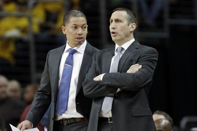 Cavs coach Tyronn Lue says David Blatt 'deserves another chance' to coach in NBA