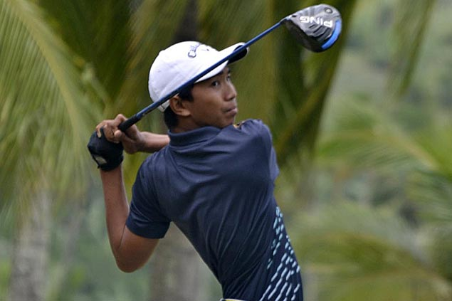 Luis Castro takes No. 1 seeding in Philippine Jr Am Match Play