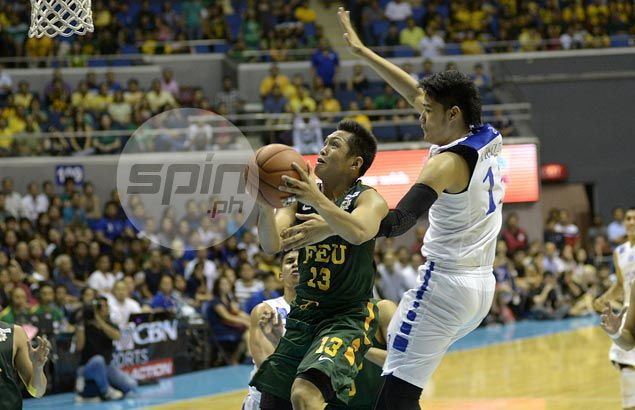Mike Tolomia inconsolable but FEU coach Nash Racela refuses to dwell on late missed free throws