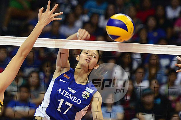 Maddie Madayag out for rest of season for Ateneo Lady Eagles with ACL injury