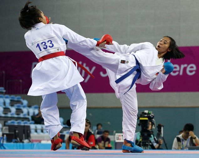 Philippines formally bows out of Asian Games as Gay Mabel Arevalo exits karatedo competitions