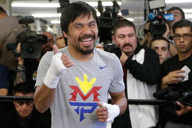 'Humble, accommodating' Manny Pacquiao endears self to American fight fans