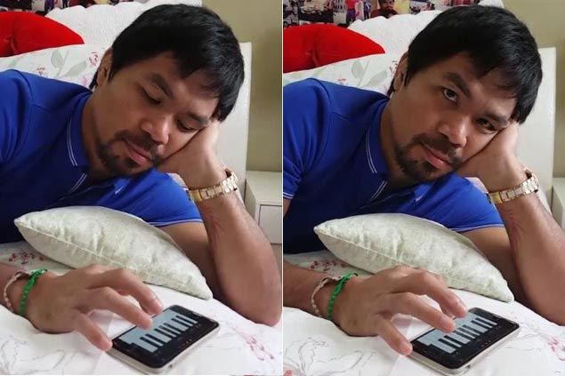 'Bored' Pacquiao takes to Instagram to air feeling about Mayweather-Berto fight