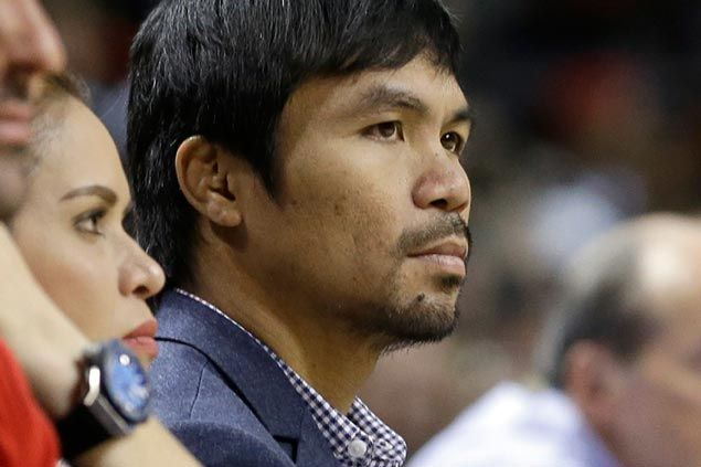 Manny Pacquiao says it was 'God's will' to bring him and Mayweather together in Heat game