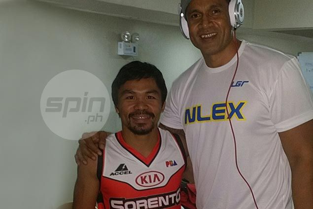 Did you know that Manny Pacquiao once moonlighted as Asi Taulava's conditioning coach? Read on
