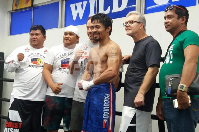 Manny Pacquiao brushes off foiled attack in LA parking lot, forgives hater