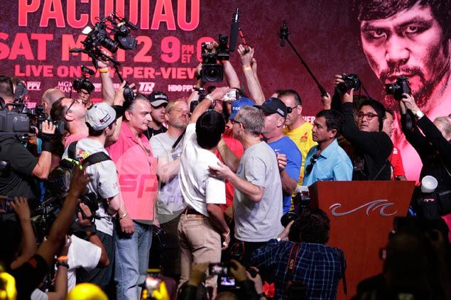 Confident Pacquiao says he's a different animal from previous Mayweather victims