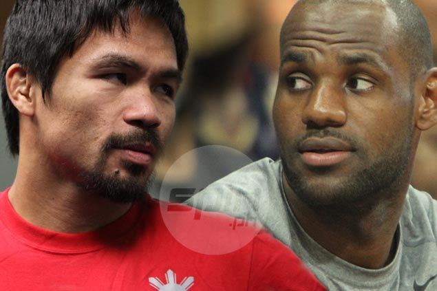 Pacquiao cut from megafight matches LeBron James' career on-court earnings, study shows