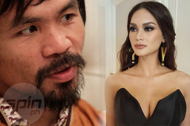 Just as she promised, Miss Universe Pia Wurtzbach makes up for Pacquiao loss to Mayweather
