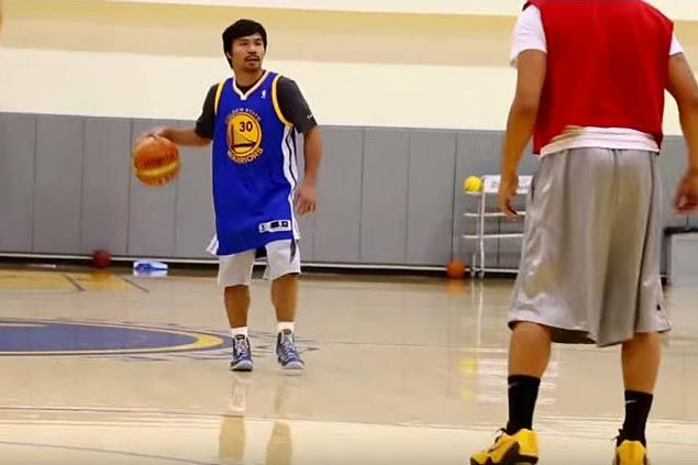 Manny Pacquiao rooting for Steph Curry, Warriors in NBA Finals versus Cavaliers