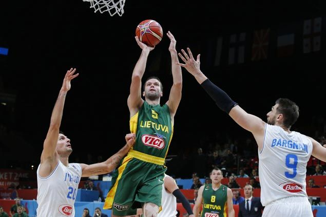 Lithuania overcomes Italy in overtime to set up Eurobasket semifinal against Serbia