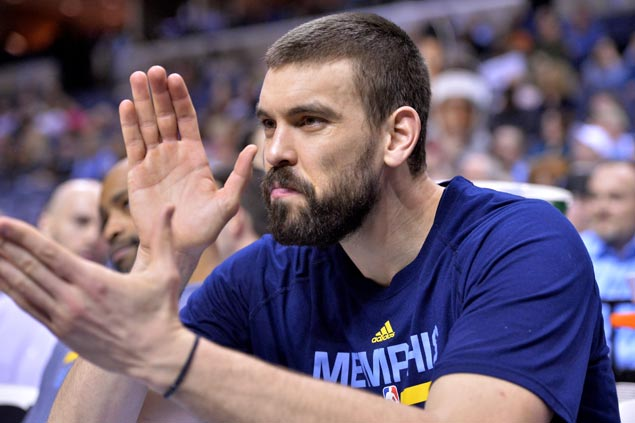 Marc Gasol out of Spanish team to Rio Olympics as he recovers from foot injury