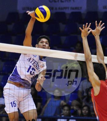 Ateneo Blue Eagles start Spikers Turf semifinals with quick win over weary NCBA Wildcats