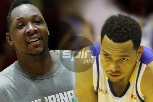 Marcus Douthit crosses paths with Gilas teammates in Blackwater-Talk 'N Text clash