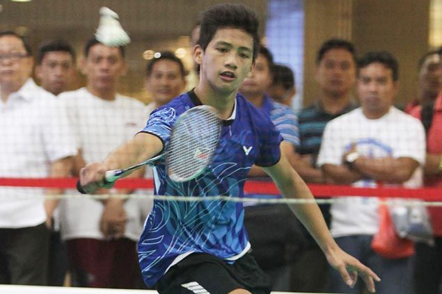 Mark Alcala eases past Neil Pineda and into round of 32 of National Open badminton