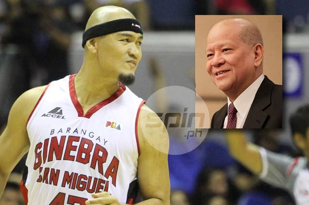 Ginebra star Mark Caguioa can be a good coach in the future, says SMC big boss Ramon Ang