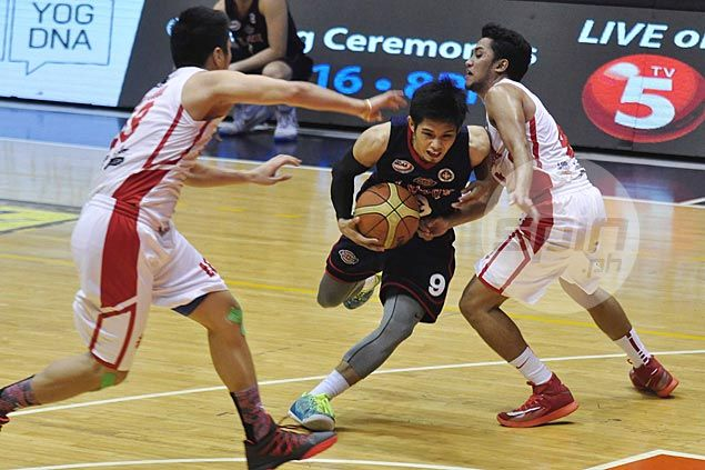 Hot-starting Letran Knights stun San Beda as Adeogun benched for missing practice