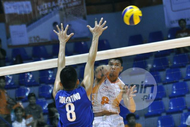Ultra Fast Hitters squeak past Airmen in first match of Spikers Turf semifinals
