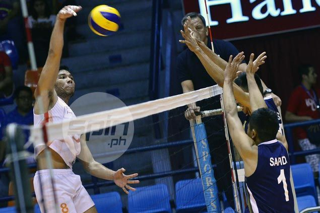 Ultra Fast Spikers close in on Spikers Turf bronze with four-set win over Navy